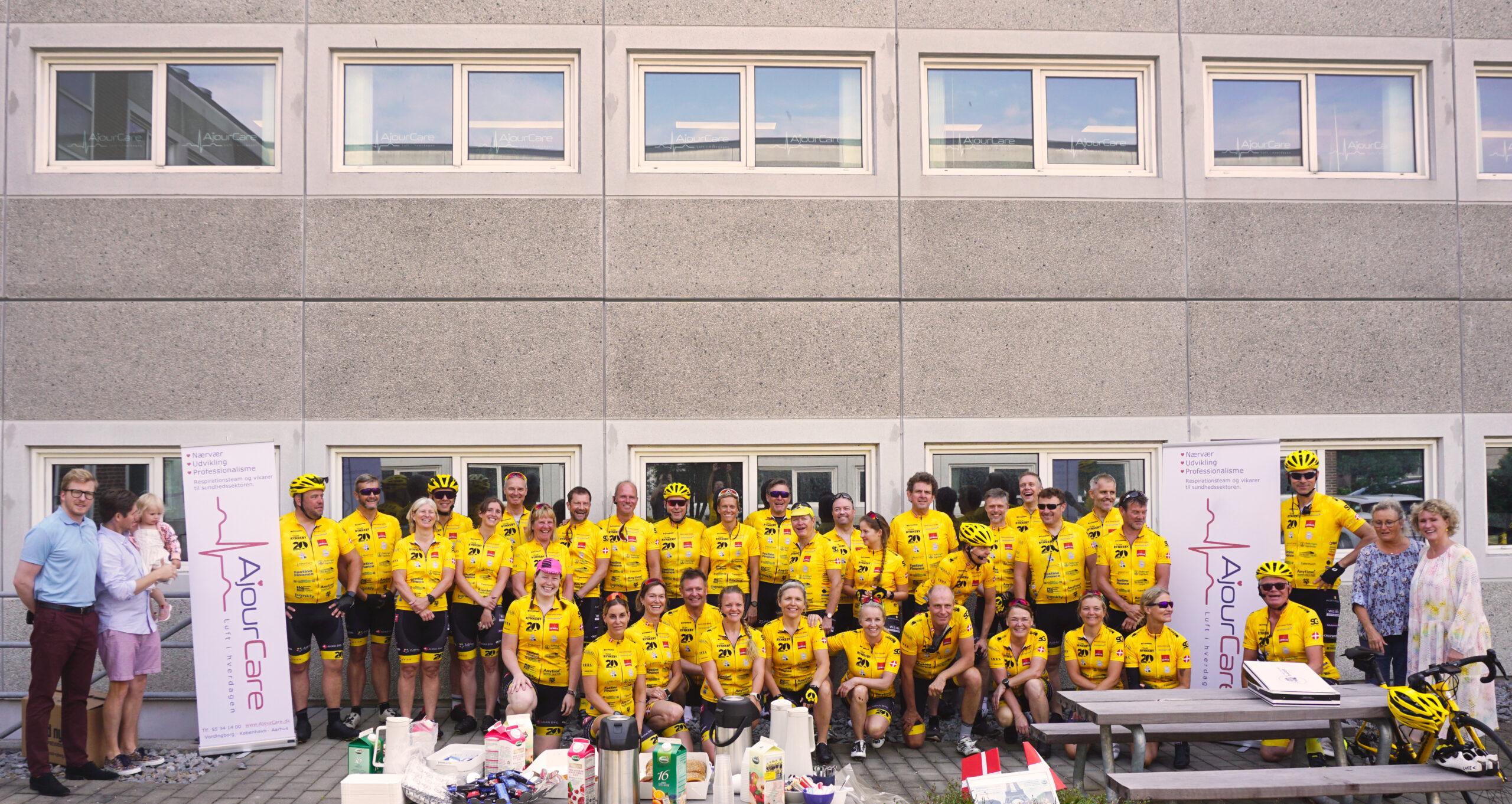 Tak for besøget Team Rynkeby Øresund